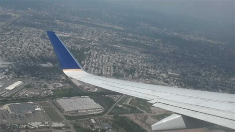 United (Continental Airlines) - Take Off Newark Liberty