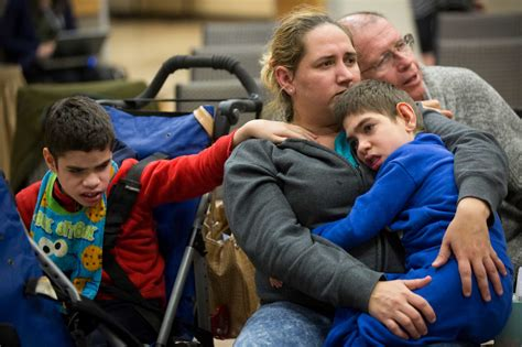 Angry parents, advocates call for federal action on Texas