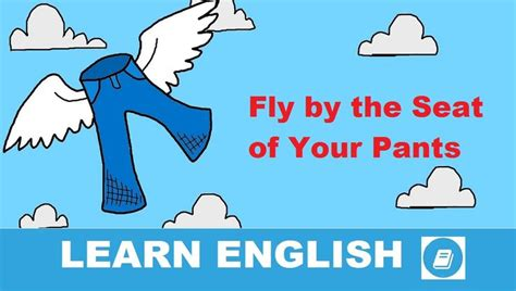 Fly by the Seat of Your Pants -Angol kifejezés (With