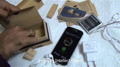 Samsung Galaxy S4 Unboxing, Box Contents, Quick Review And