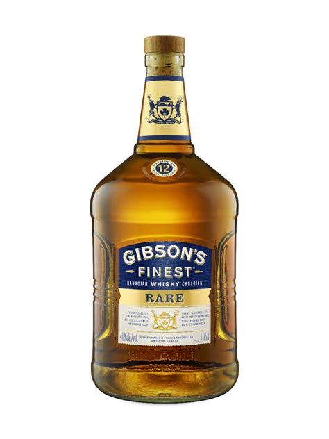 Gibson's Finest Rare 12 Year Old Whisky | LCBO