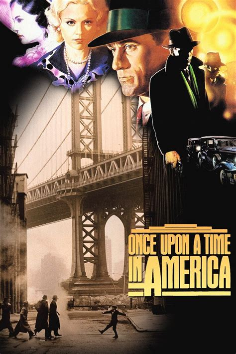 Once Upon a Time in America (1984) IMDB Top Movie Poster