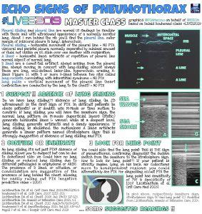 Diagnosing pneumothorax and lung effusion on Lung