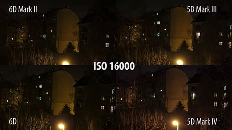 ISO low light test: Canon 6D vs