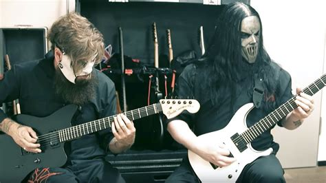 Watch Slipknot's Jim Root And Mick T Play Through