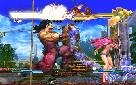 Street Fighter X Tekken a Steamen