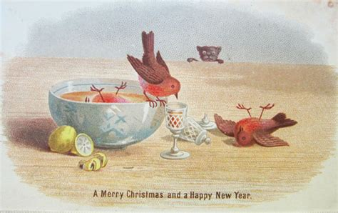 10+ Victorian Christmas Cards That Are As Creepy As Those