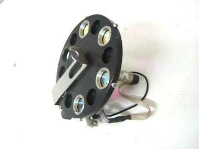 Laser Optical Filter Wheel 6 Slot with 5 Lens with Encoder