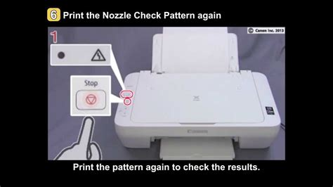 PIXMA MG2420/MG2520: Uneven printing, Faint printing - YouTube