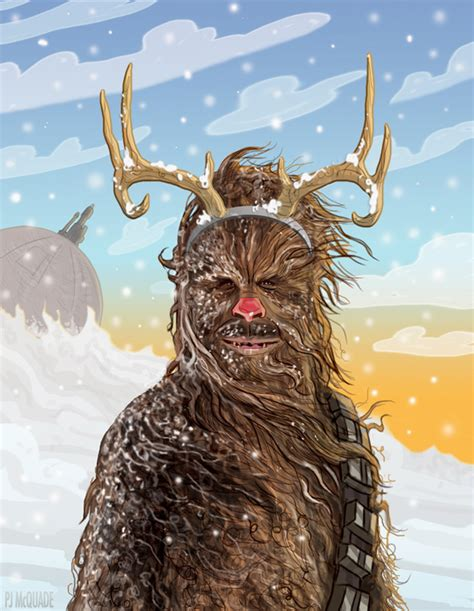 'Star Wars' Christmas Cards Sends Holiday Greetings With