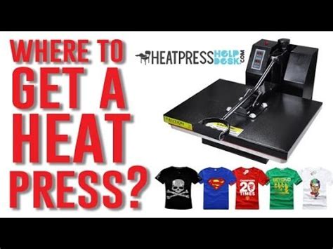 Where to get a Heat Press and Start your TShirt Business