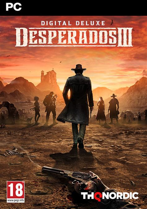 Desperados III - Deluxe Edition Steam Key for PC, Mac and