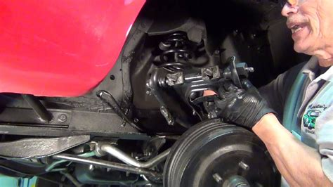 Mustang Upper Control Arm Installation - YouTube