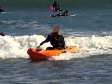 Ocean Kayak Frenzy Sit on Top Kayak in Small Surf
