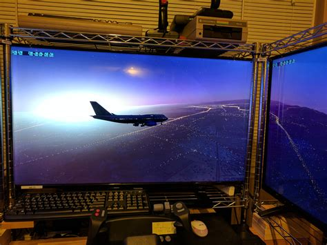Wayne Piekarski | Immersive Home Flight Simulator Using X