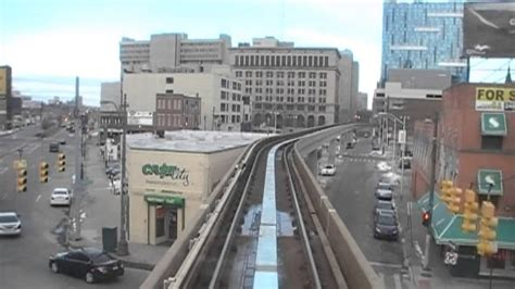Detroit People Mover (Tim Hortons), 03-05-2013 - YouTube