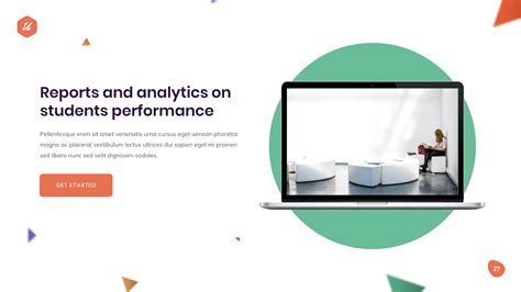 uCademy - Education Courses PowerPoint Template by yossy1