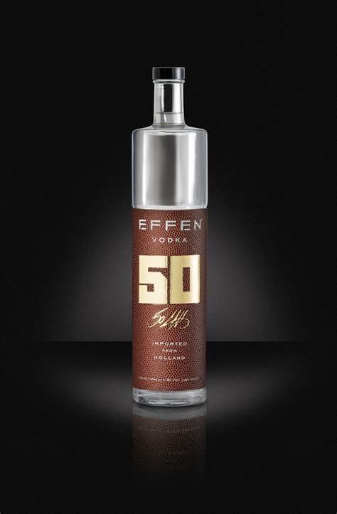 EFFEN Vodka Unveils Limited Edition Bottle Just In Time