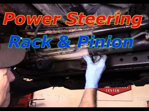 How to replace the rack and pinion on a 2003 Toyota Tundra